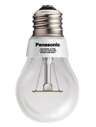 Bombillo LED tipo incadescente, 6 watts de consumo, Luz Cálida, Ilumina como 40 watts, 40 000 horas de vida útil.