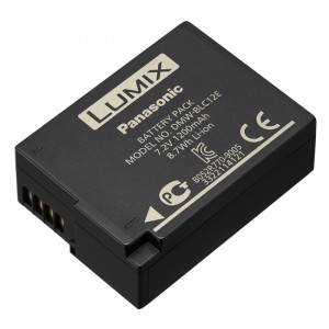 Batería Recargable de Litio Panasonic BLC12