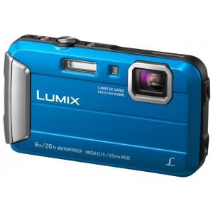 Lumix Cámara Compacta TS30 Resistente al Agua a Prueba de Impactos y Congelación. Color Azul