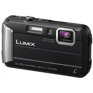Lumix Cámara Compacta TS30 Resistente al Agua a Prueba de Impactos y Congelación. Color Negro