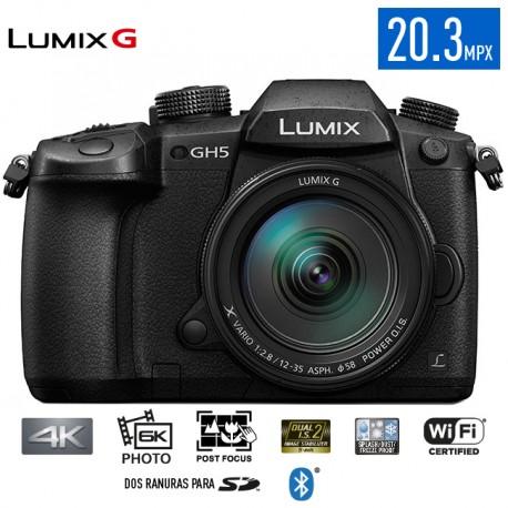 Camara 6K Photo y Video 4K GH5 Lumix G