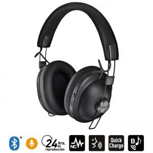 Audífonos Bluetooth Noise Cancelling HTX90 Negro