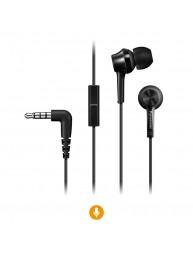 Los audífonos RP-TCM115E cuentan con sonido claro con excelente aislamiento del ruido