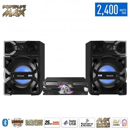 Minicomponente 2400 W MAX3500 Negro