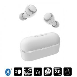 Auriculares Bluetooth True Wireless S300 color blanco