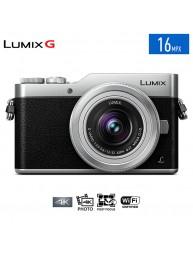 Cámara Lente Intercambiable 4K 16 Mp GX850 Lumix G. Color Silver