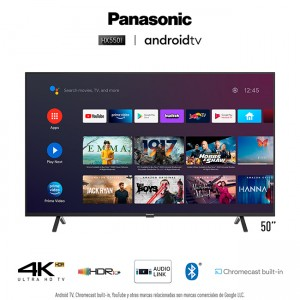 """A. TV 50"""" LED 4K ULTRA HD Android TV HX550"""
