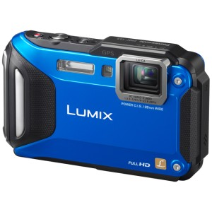 Lumix Cámara Compacta Panasonic TS5 Máxima Resistencia Sumergible al Agua Azul