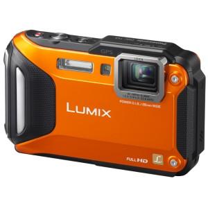 Lumix Cámara Compacta Panasonic TS5 Máxima Resistencia Sumergible al Agua Naranja