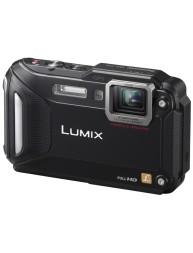Lumix Cámara Compacta Panasonic TS5 Máxima Resistencia Sumergible al Agua Negra